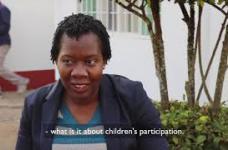 Child Parliament in Mozambique