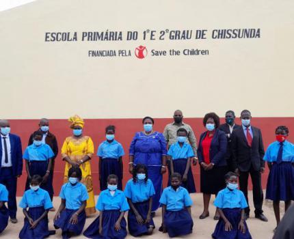 Mais de 8 mil crianças beneficiam de 11 escolas em Manica
