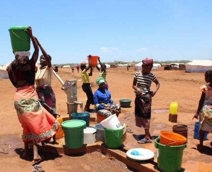 Save the Children empenha-se na assistência a deslocados em Nampula