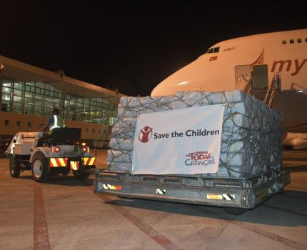 Save the Children supports flood victims in Gaza