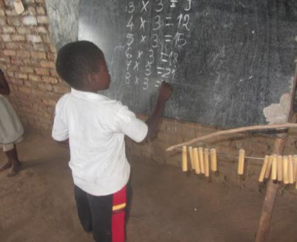 'I want to be a teacher' Lonjezo Max, a 10 years old boy