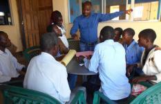 Capacitação de professores sobre educação inclusiva-abordando a Politica de Salvaguarda da Criança-Gondola-Manica